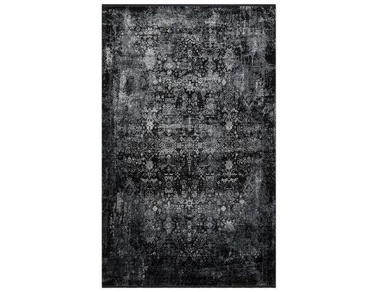 Eko Fresco FS17 Black Grey XW Siyah Gri Bambu Halı Kapak Resim