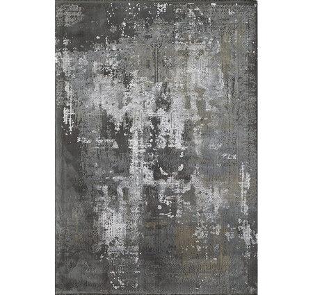Sanat Elexus Luna 1965 Gri Siyah Bambu Halı Kapak Resim