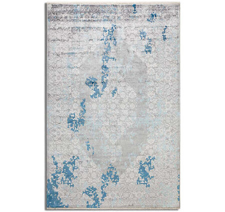 Tuğra La Boutique Platinum 1204 Mavi Bambu Halı Kapak Resim
