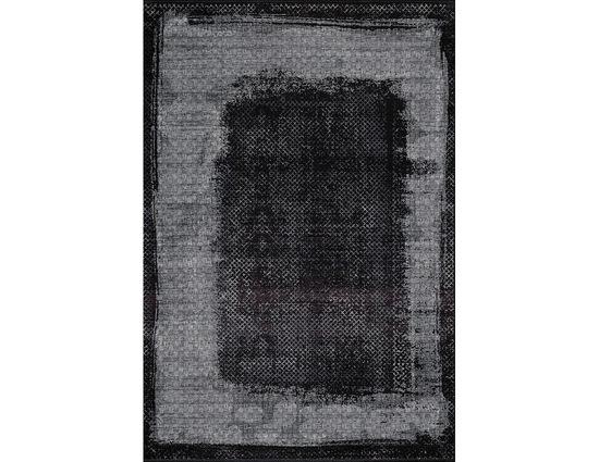 Woolknot Black M231H Siyah Viskon Halı Kapak Resim