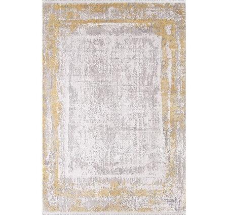 Woolknot Gordion B177F Krem Gold Viskon Halı Kapak Resim