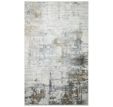 Eko Fresco FS01 Grey Beige XW Gri Bej Bambu Halı Kapak Resim