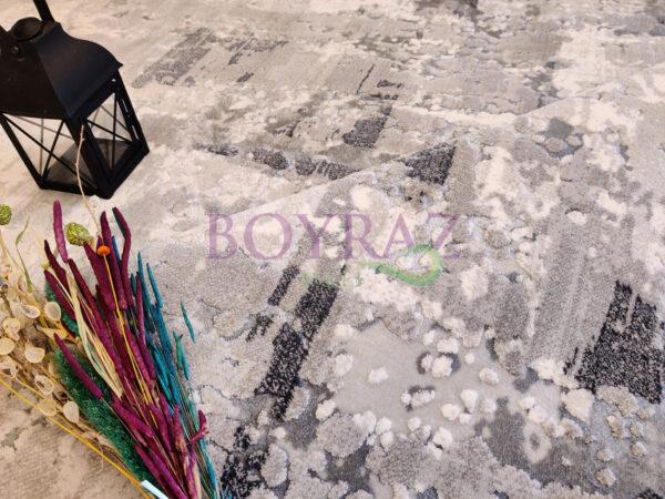 Angora Massimo 8534K Gri Halı Dekorlu Çekim