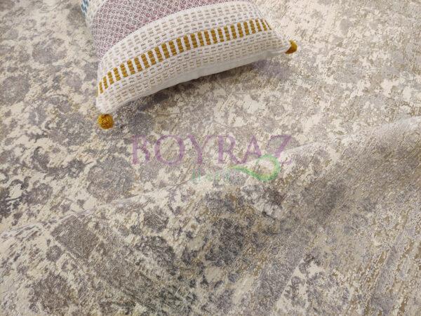 Eko Fresco FS04 Beige XW Bej Bambu Halı Dekorlu Çekim
