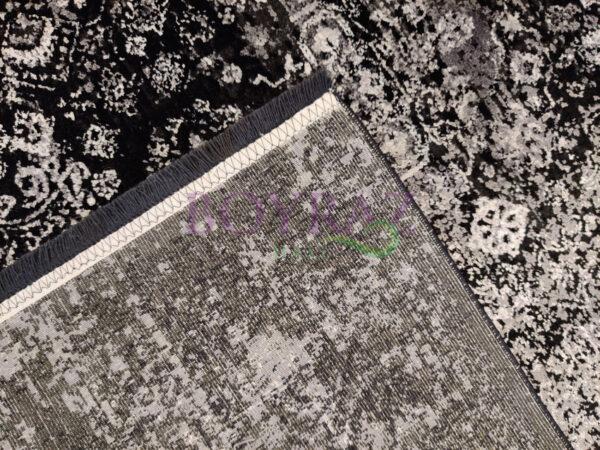 Eko Fresco FS17 Black Grey XW Siyah Gri Bambu Halı Taban Çekim