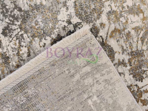 Eko Fresco FS04 Grey V1 XW Gri Bambu Halı Taban Çekim