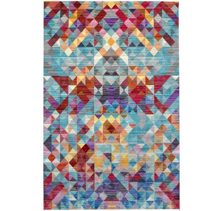 Tuğra Brooklyn 5118 Renkli Modern Polyester Halı Kapak Resim