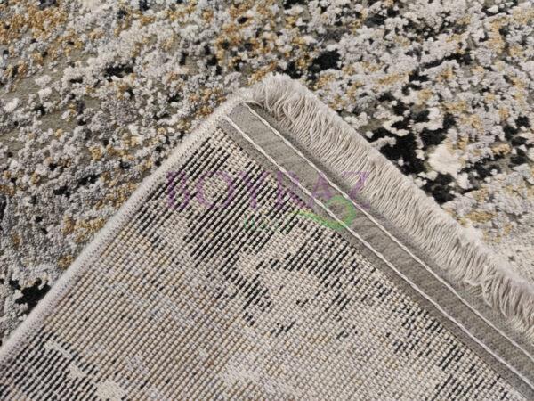 Woolknot Maxell A471A Viskon Gri Halı Taban Çekim