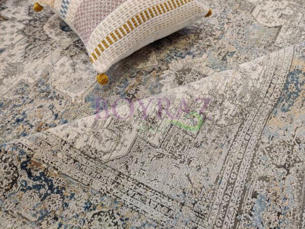 Woolknot Craft MT002 Viskon Halı Dekorlu Çekim