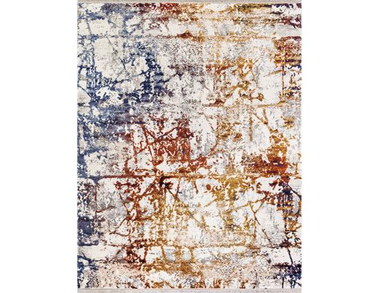 Angora Impressive 8408M Renkli Viskon Halı Kapak Resim