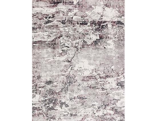 Angora Massimo 8605Y Gri Lila Akrilik Halı Kapak Resim
