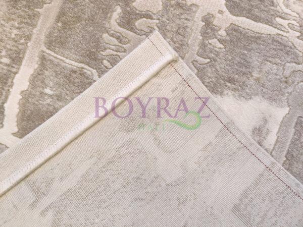 Angora Bohem 8221C Bej Krem Akrilik Halı Taban Çekim
